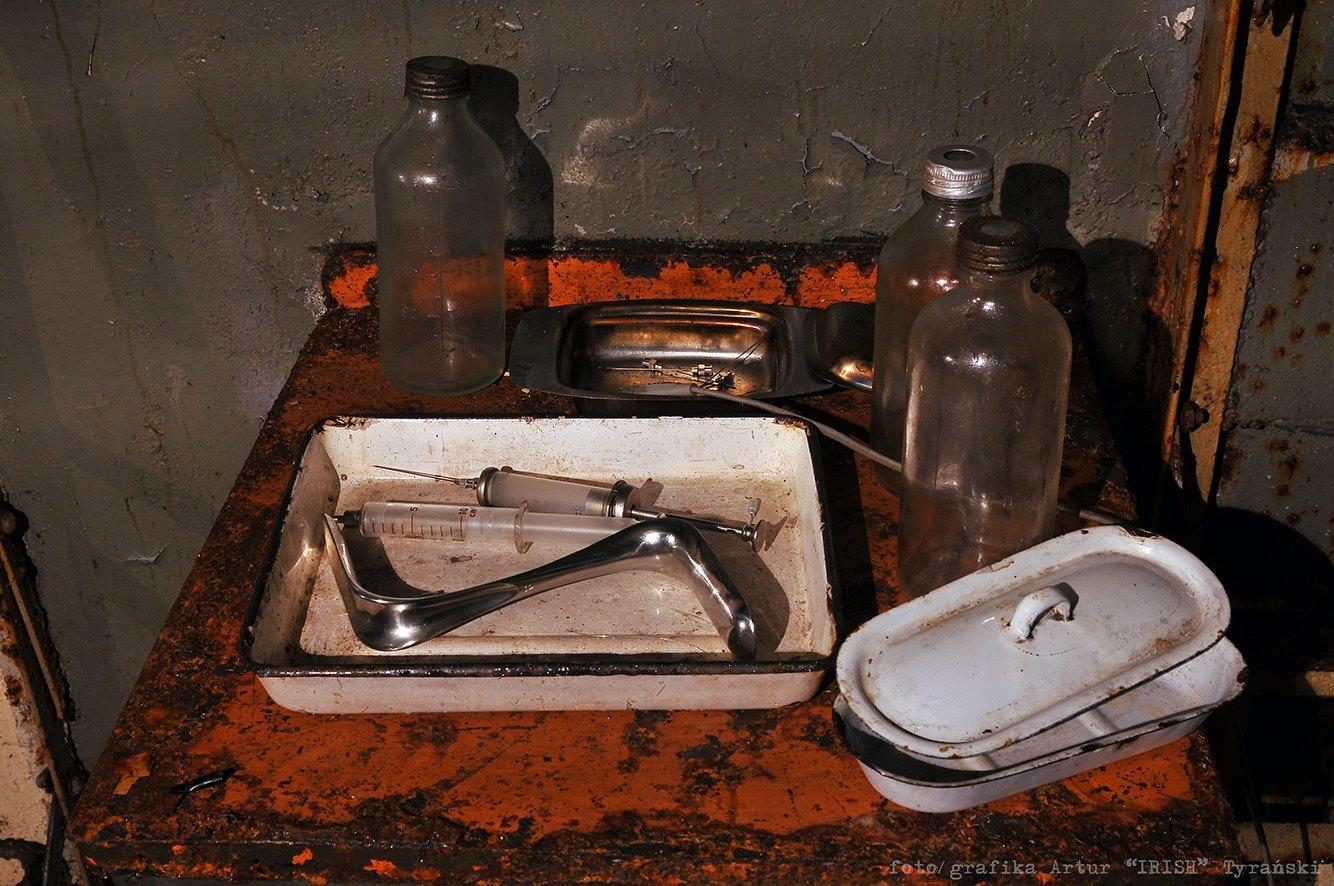 pomieszczenie w bunkrze Makabra
