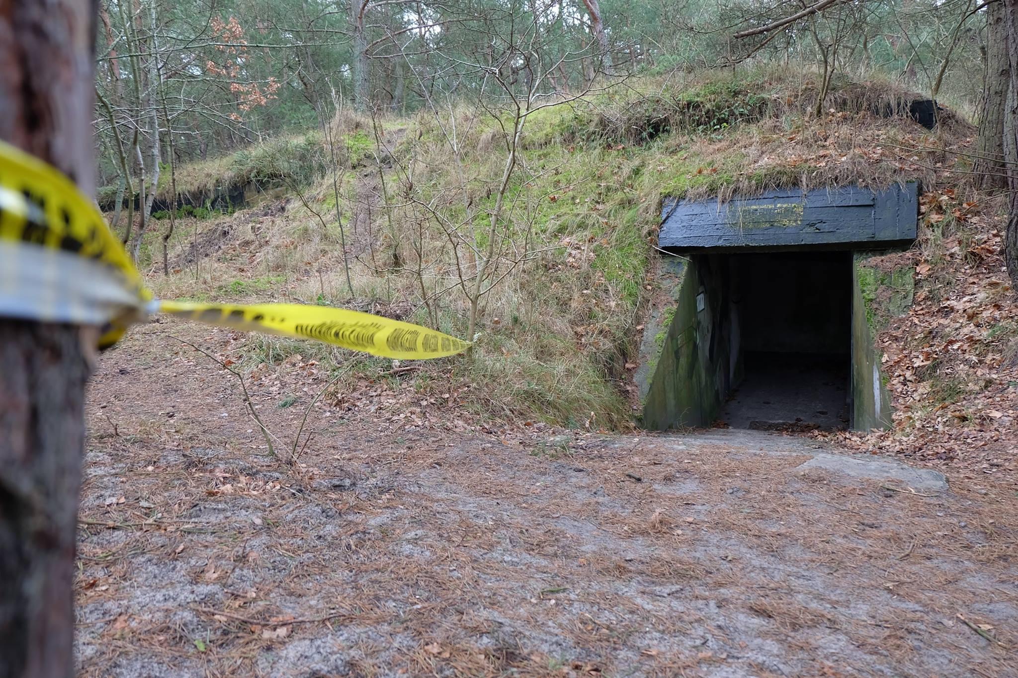wejście do bunkra Hel