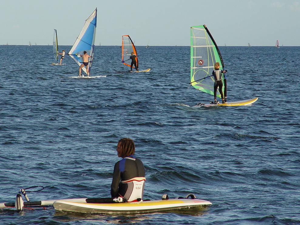 windsurfing zatoka pucka