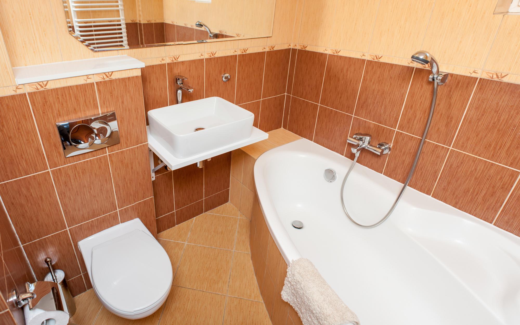 łazienka pokoju 2 os